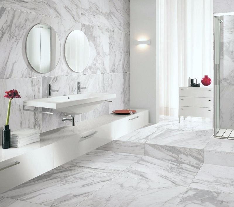 Carrelage Granit blanc