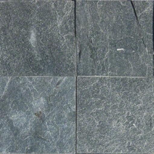 Carrelage sol mur quartzite noir