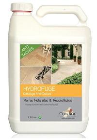 Hydrofuge Oléofuge anti-taches incolore pour travertin