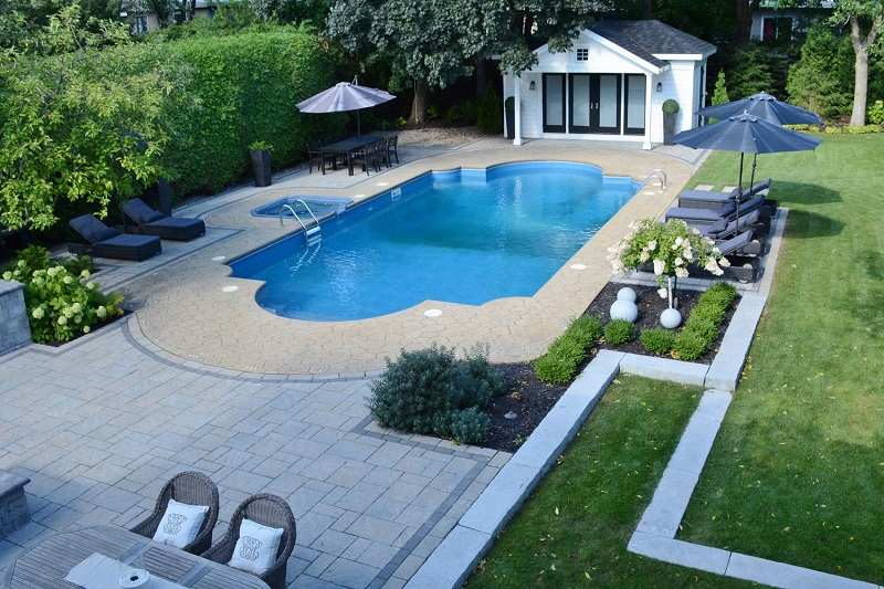Am nagement autour piscine id e d co photos - Amenagement autour piscine photos ...