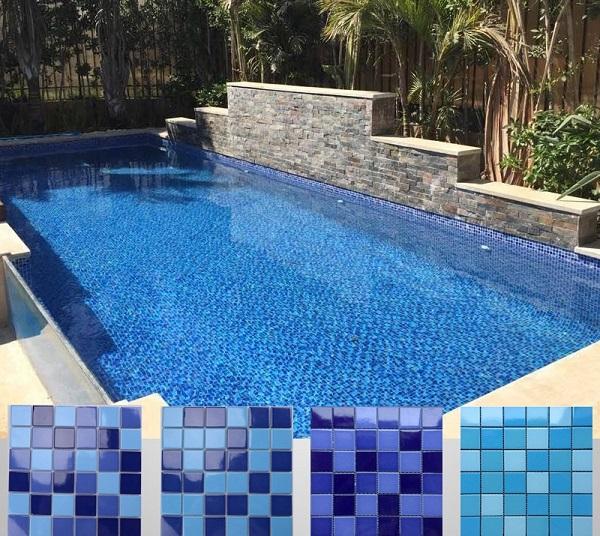 carrelage piscine céramique