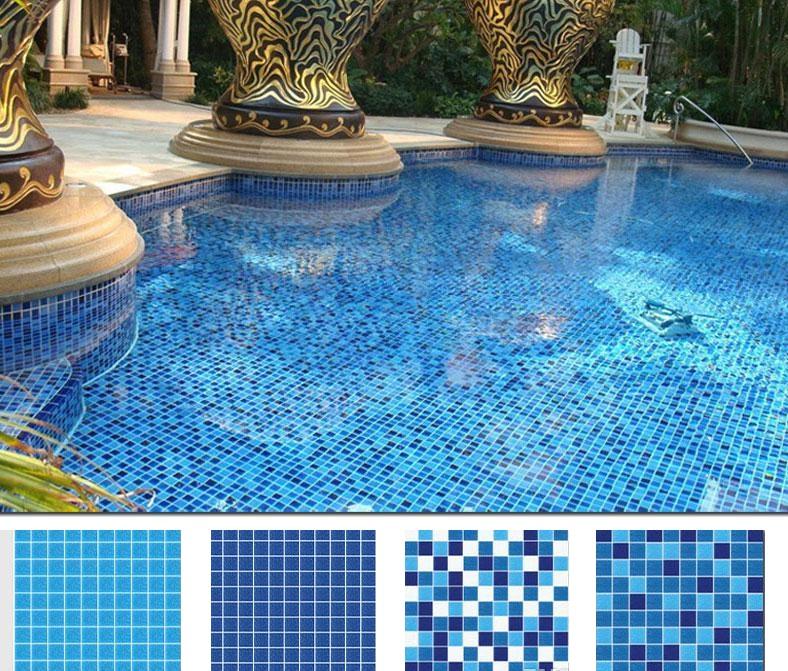 carrelage piscine mosaïque